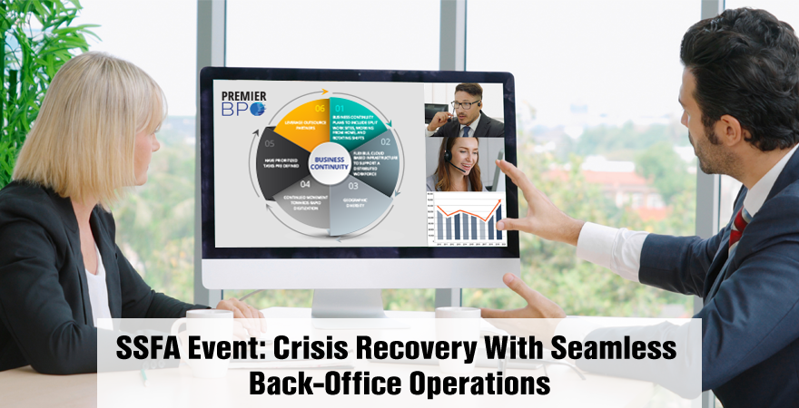 Enabling Business Continuity for Back office Operations Amidst a Crisis