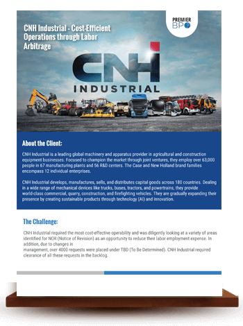 CNH Industrial – Cost-Efficient Operations through Labor Arbitrage
