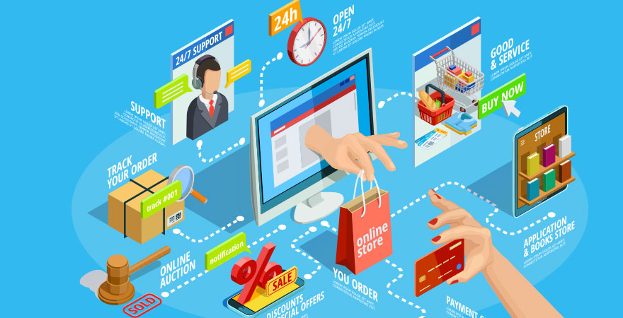 OUTSOURCE E-COMMERCE TO BE EQUIPPED