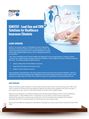 IGNITIST - Lead Gen and CRM Solutions for Healthcare Insurance Clientele