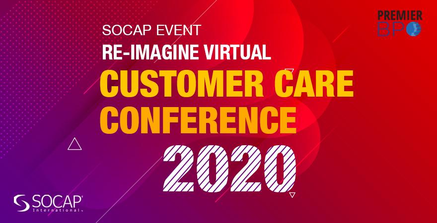 SOCAP event - Re-Imagine Virtual - Customer Care Conference 2020